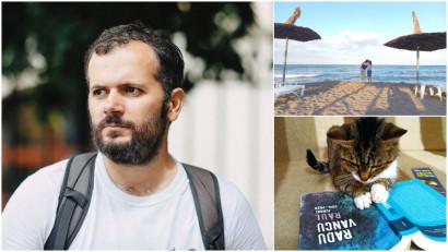 [Out of Office] Radu Vancu: Se poate scrie excelent și la mare, și prin hoteluri, și pe drumuri. De fapt, uneori chiar ajută, parcă scrisul capătă un surplus de viteză