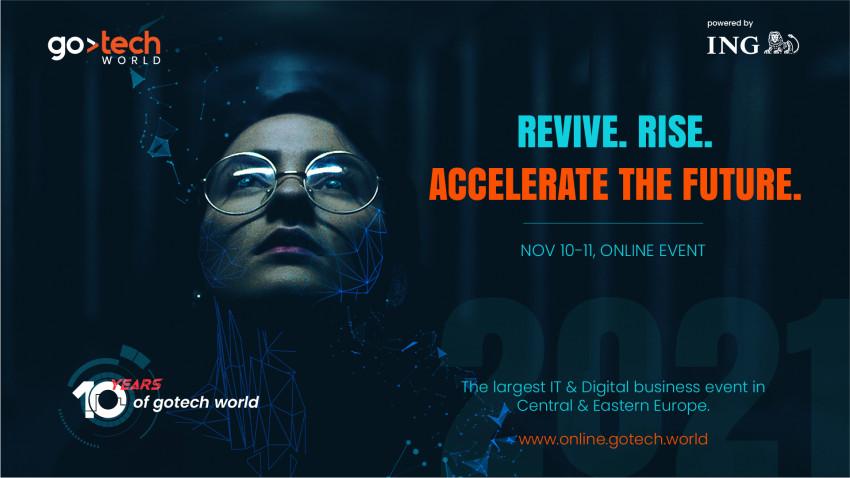 Pe 10 și 11 noiembrie, GoTech World, cel mai mare eveniment deIT & Digital din Europa Centrală și de Est, aniversează 10 ani