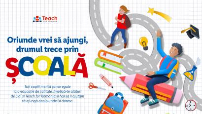 Cu ajutorul clienților săi, LIDL România continuă să investească în educație, prin susținerea programului Teach for Romania, pentru al cincilea a consecutiv