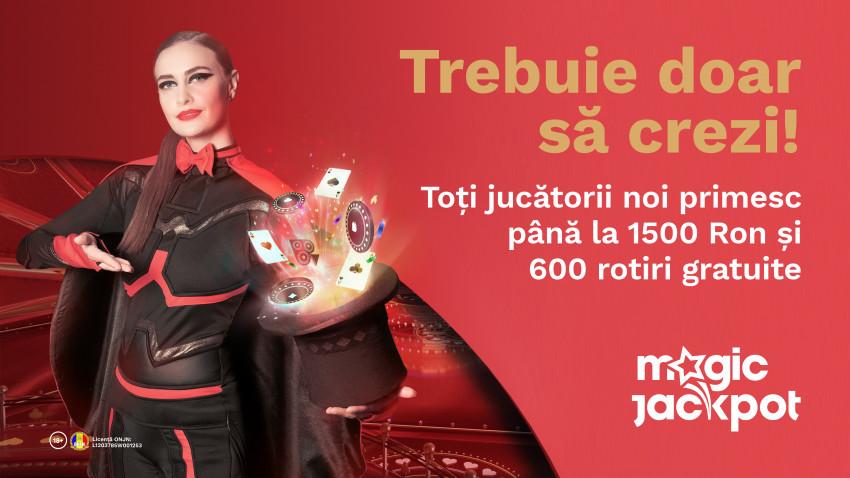 Rusu+Borțun a lansat campania de comunicare a brandului Magic Jackpot