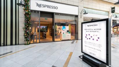 Nespresso deschide un nou boutique în AFI Cotroceni și dezvăluie o experiență unică de consum pentru iubitorii de cafea