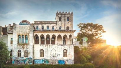 One Night Gallery Love RIZI la Vila Șuțu din Constanța.Expoziție de new media art care deschide monumentul istoric pentru public pentru prima dată în ultimii 20 de ani