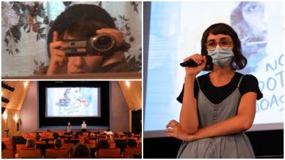 Andra Tarara: Tata se pregătise pentru filmare, dar nu în sensul în care mă așteptam eu. Nu se falsifica în fața camerei, nu mințea, nici măcar nu se intimida
