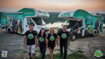 RADIOAVENTURA, Turul României cu Autorulota ZU, a fost urmărită de peste 13 milioane de oameni în social media