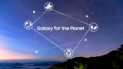 Samsung Electronics anunță platforma care înglobează viziunea sa de sustenabilitate pentru telefoanele mobile: Galaxy for the Planet