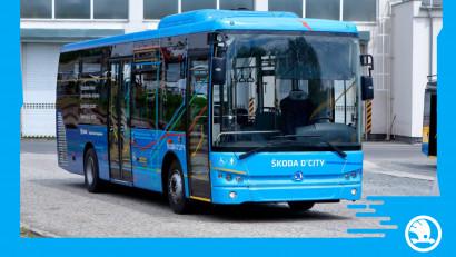 Škoda Transportation a prezentat noul autobuz diesel, Škoda D'CITY