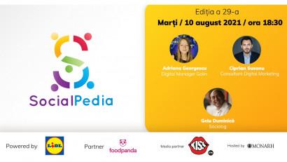 SocialPedia 29:Despre Social Media Strategy în 2021 cu Adriana Georgescu, Ciprian Susanu și Gelu Duminică