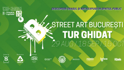 Înscrie-te în tururile ghidate Street Art București și descoperă arta urbană din oraș
