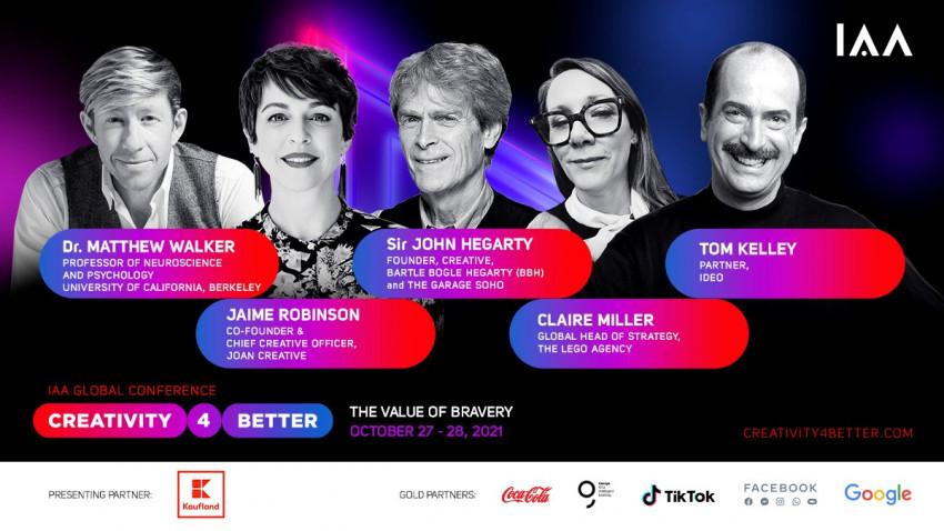 A 5-a ediție a Conferinței Globală IAA#Creativity4Better se apropie
