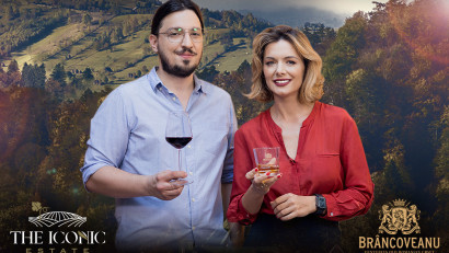 Brâncoveanu Vinars și The Iconic Estate invită consumatorii în Romania's Grand Pairing Tour - o campanie semnată de Alexandrion Group și Foodwise Marketing