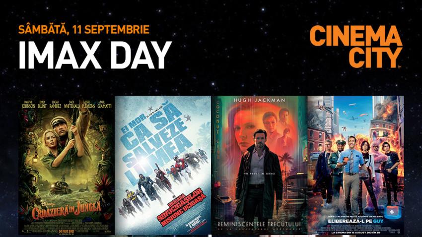 De neratat în cinema.IMAX Day în România: cele mai bune filme ale momentului la un preț unic