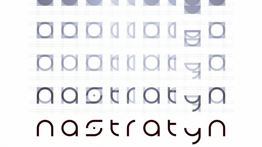 This is how geometric shapes become a logo - Nastratyn - Logo & Visual Identity