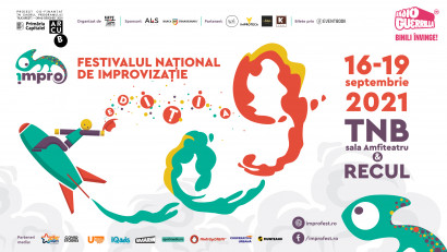 Descoperă lumea fascinantă a improvizației, între 16 și 19 septembrie,la Festivalul Național de Improvizație, ediția a IX-a
