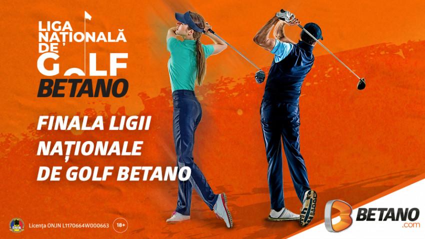 Liga Națională de Golf BETANO se apropie de Marea Finală
