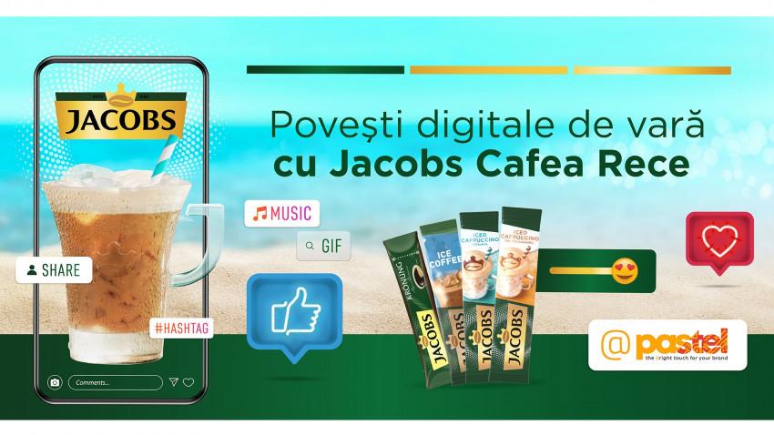 pastel a stat la povești digitale de vară cu Jacobs Cafea Rece
