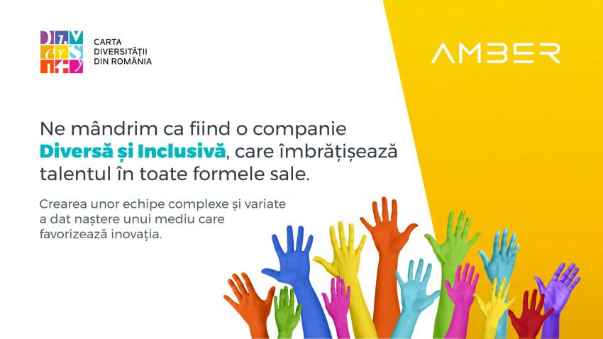 Amber, prima companie românească de gaming care semnează Carta Diversității