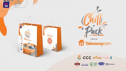 Takeaway susține inițiativele de wellbeing adresate targetului corporate devenind partenerul principal al ediției de toamnă Chill Pack