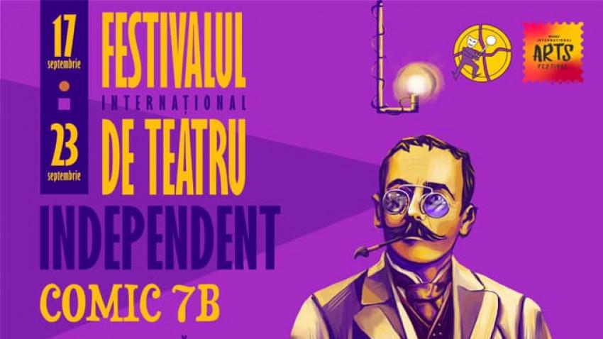Competiția Festivalului Internațional de Teatru Independent COMIC 7 B din cadrul Buzău International Arts Festival, între 17 – 23 septembrie