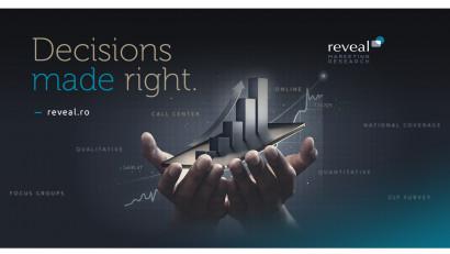 """Decisions made right"" noua filozofie de brand a Reveal Marketing Research"