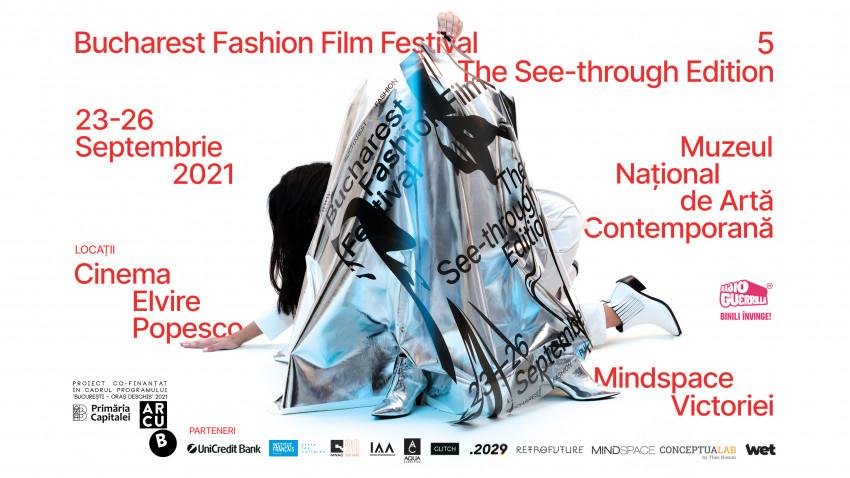 Între 23- 26 septembrie, cea de-a 5-a ediție a Bucharest Fashion Film Festival aduce împreună filme-cult, documentare, discuții și o expoziție colaborativă