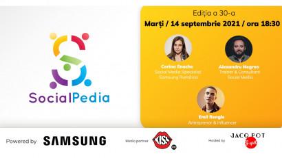 SocialPedia 30:Despre Content Marketing 101 cu Corina Enache, Alexandru Negrea și Emil Rengle