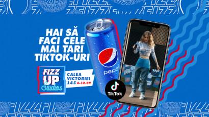 Pepsi FIZZ UP Studios aduce TikTok-ul în realitate și realitatea pe TikTok
