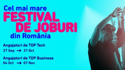 Târgul virtual Angajatori de TOP debuteză pe 27 septembrie cu peste 6000 de oportunități de carieră