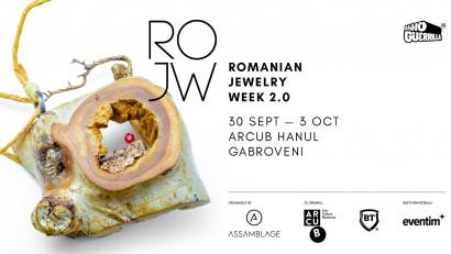 Începe Romanian Jewelry Week 2.0 - 191 designeri de bijuterie contemporană, 6 expoziții colective, 6 locații culturale conexe