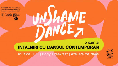 UnShame Dance - Dans zi de zi.Dedicat celor care nu au dansat niciodată / prea des / atât de mult cât și-au dorit