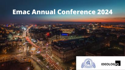 România, pe harta marketingului european:Ideologiq și Academia de Studii Economice din București organizează Conferința Anuală a Academiei Europene de Marketing, în premieră în România