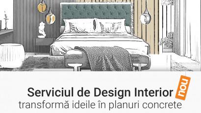 NOU la Mobexpert: Servicii de Design Interior