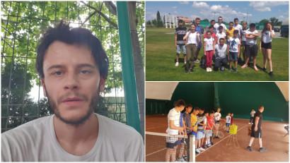 [Povești de bine] Codruț Baciu: Vrem să ducem programul în comunități mici, care au nevoie de ajutor să descopere sportul și tenisul în particular