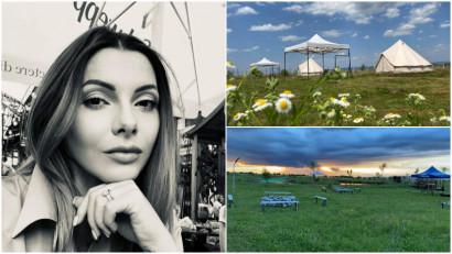 [Glamping in Ro] Silvana Savoiu: Nu sunt un om al campingului si dupa o noapte petrecuta cu cel mic in cort, am spus ca eu vreau sa facem ceva pentru cei ca mine