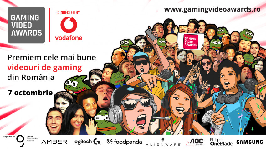 JaxiTV, Lectură DeLaA-LaZ și Cristina Simion sunt creatorii cu cele mai multe nominalizări la Gaming Video Awards
