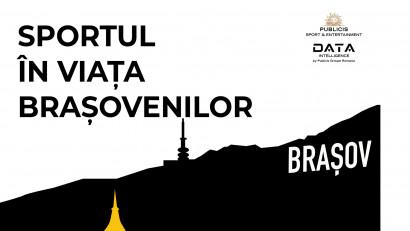 Analiză Publicis Groupe România: sportul, o componentă importantă în viața brașovenilor, cu mare potențial de dezvoltare