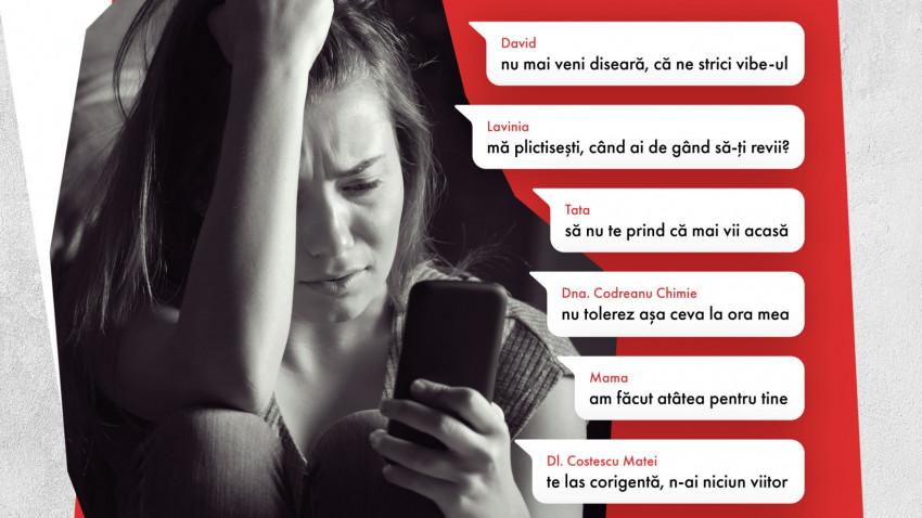"""Se lansează campania """"Nu da doar cu SEEN"""" pentru creșterea gradului de conștientizare a depresiei la adolescenți"""
