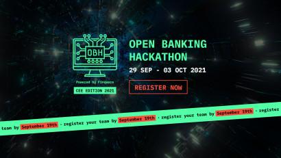 Doar două săptămâni în care vă mai puteți înscrie la Open Banking Hackathon pentru o experiență unică și premii de până la 5.000 €