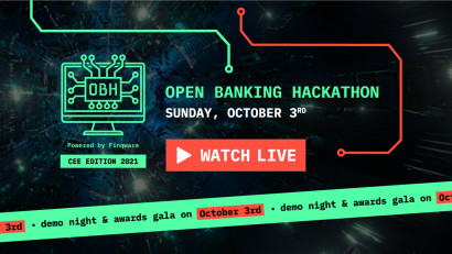 Open Banking Hackathon CEE Edition starts tomorrow with 15 teams in the race for the final stage