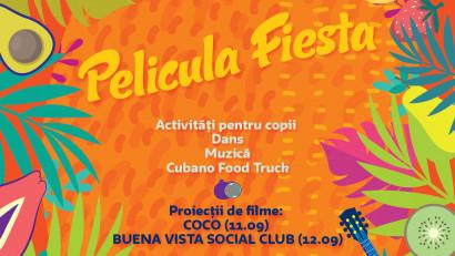 PELICULA 6 - IBERO AMERICAN FILM EXPERIENCE vă invită la Película Fiesta – film, dans și muzică pe 11 și 12 septembrie, la Verde Stop Arena