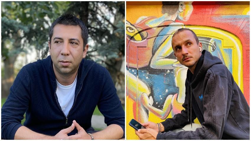 Bogdan Castaliu & Mihnea Diaconu: stickr este un mod contemporan prin care oamenii isi lasa amprenta digitala pe harta lumii