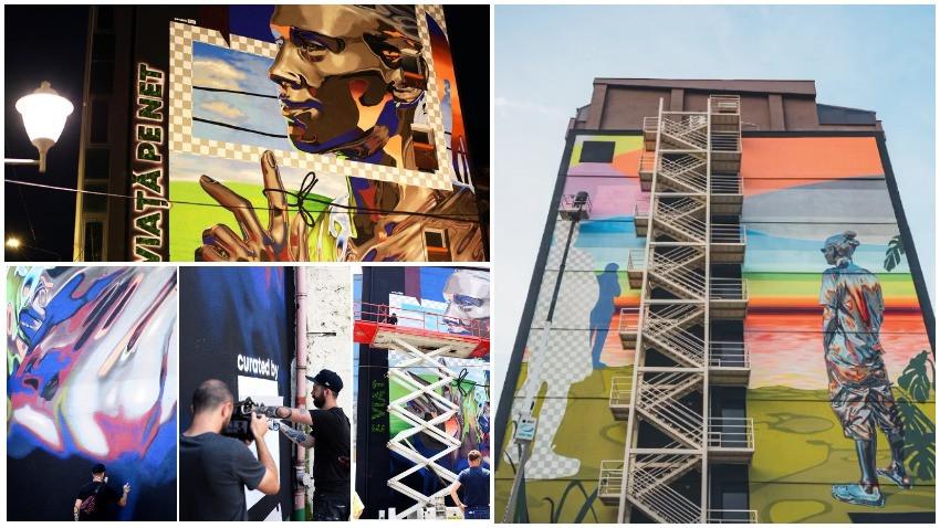 Orașul din inima noastră. Zidurile Bucureștiului se transformă în artă și natură prin seria de murale #rebelswithacause powered by glo™