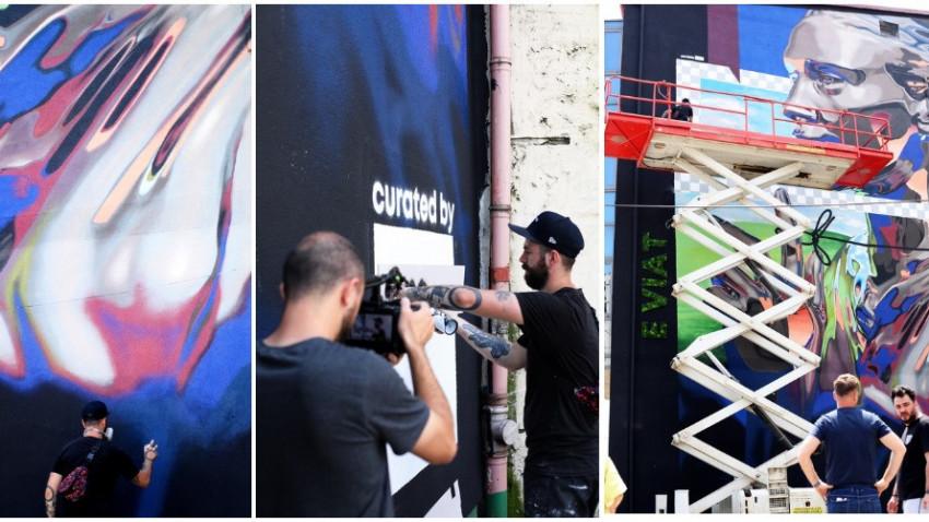 Sweet Damage Crew: Este minunat că artiștii pot beneficia de un asemenea suport și că își pot exprima creativitatea pe pereți de mari dimensiuni