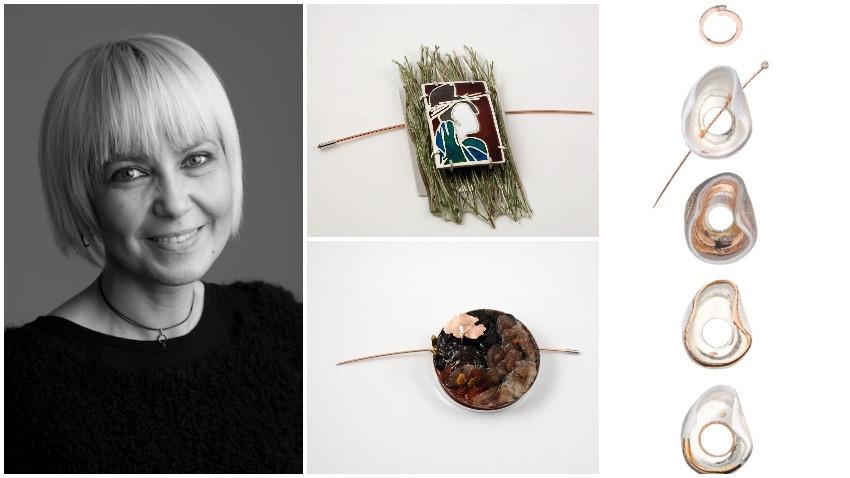 Andreia Gabriela Popescu: In bijuteria contemporana, inspiratia si tehnica merg impreuna si se potenteaza intre ele