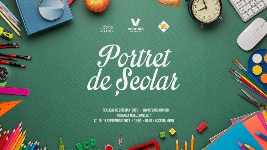 """Kooperativa 2.0 și Veranda Mall sărbătoresc începerea școlii cu o nouă ediție """"Portret de Școlar"""", celebra serie fotografiată de Cristian Șuțu"""