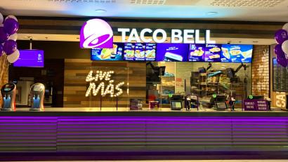 Spiritul #livemas ajunge în Bacău, odată cu inaugurarea restaurantului Taco Bell din Arena Mall