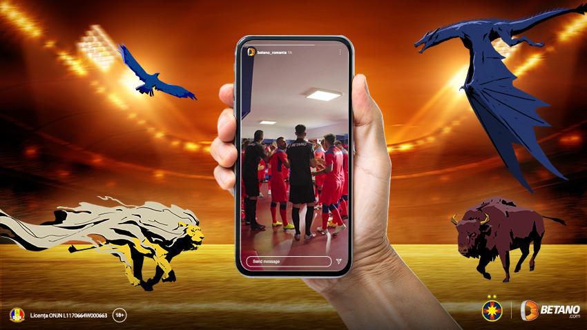 KUBIS a lansat jocul Betano x FCSB: o activare nativă de Instagram ce oferă o experiență interactivă inedită