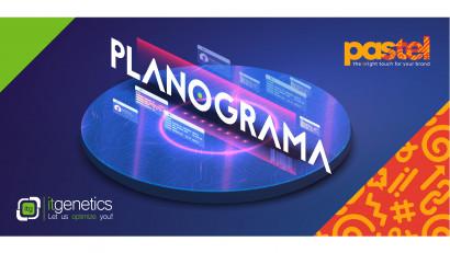 """pastel și IT Genetics """"fac planul"""" pentru Planograma"""