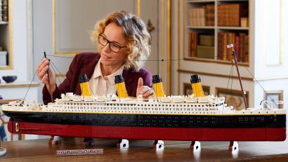 LEGO Titanic: Cea mai celebră ambarcațiune din istorie se alătură familiei LEGO®