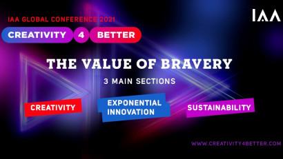 5 motive să nu ratezi Conferința Globală IAA #Creativity4Better 2021, pe 27-28 Octombrie 2021 (virtual)