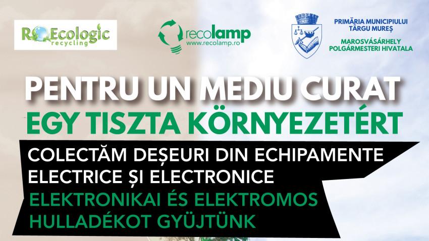 Recolamp pledează pentru un mediu curat la Târgu Mureș